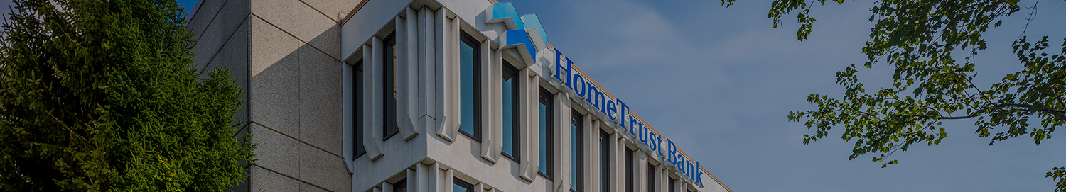 HomeTrust Bank Headquarters day